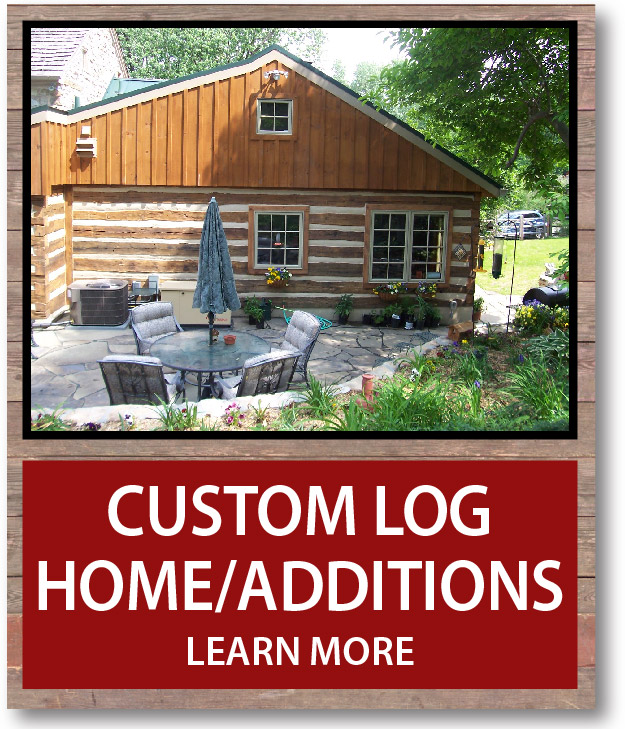 Custom Log Homes Additions